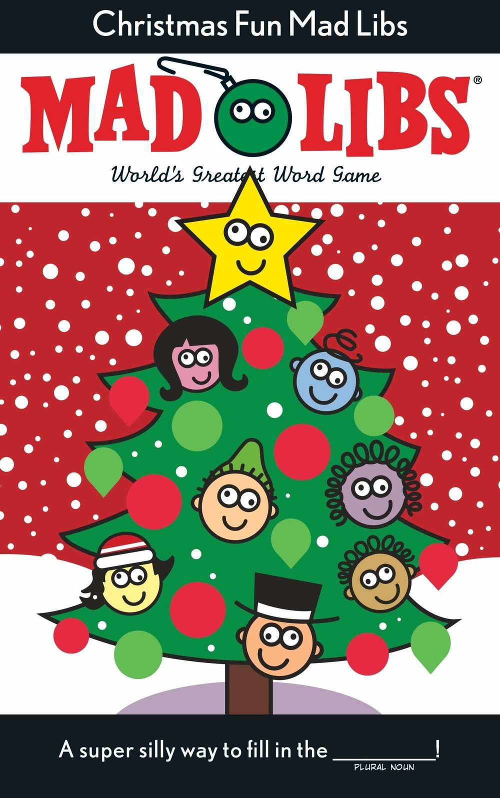Christmas Fun Mad Libs Deluxe Stocking Stuffer Edition Paperback by Roger Price