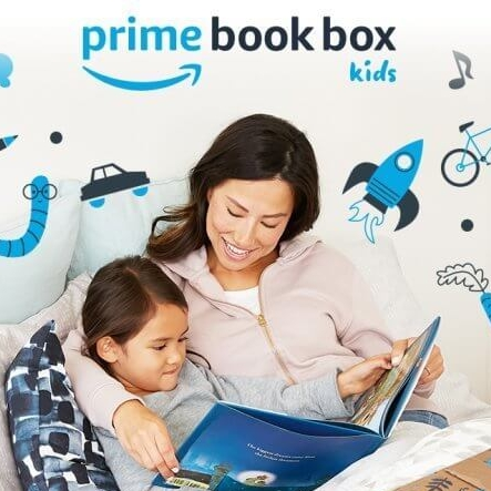 Amazon Prime Book Box for Kids Christmas Stocking Stuffer