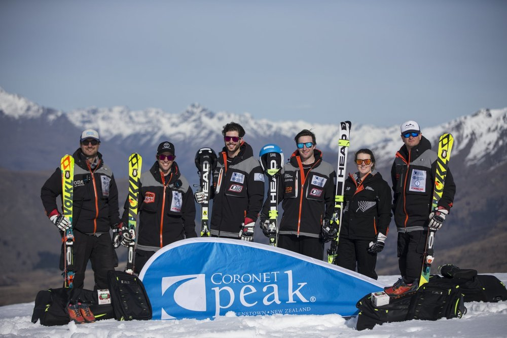 Coberger Academy, NZ Ski Team. Pic by Michael Thomas