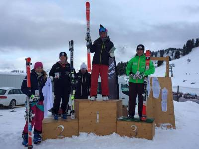 2nd overall in the Champery GS at the Welsh