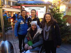 Afternoon out in Zell am See seeing the Christmas markets with the girls :)