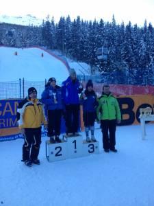 2nd place Santa Caterina NJR GS