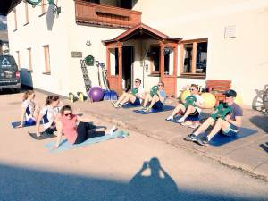 core in the sunshine - I swear its not staged!!