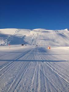 GS training at St. Moritz