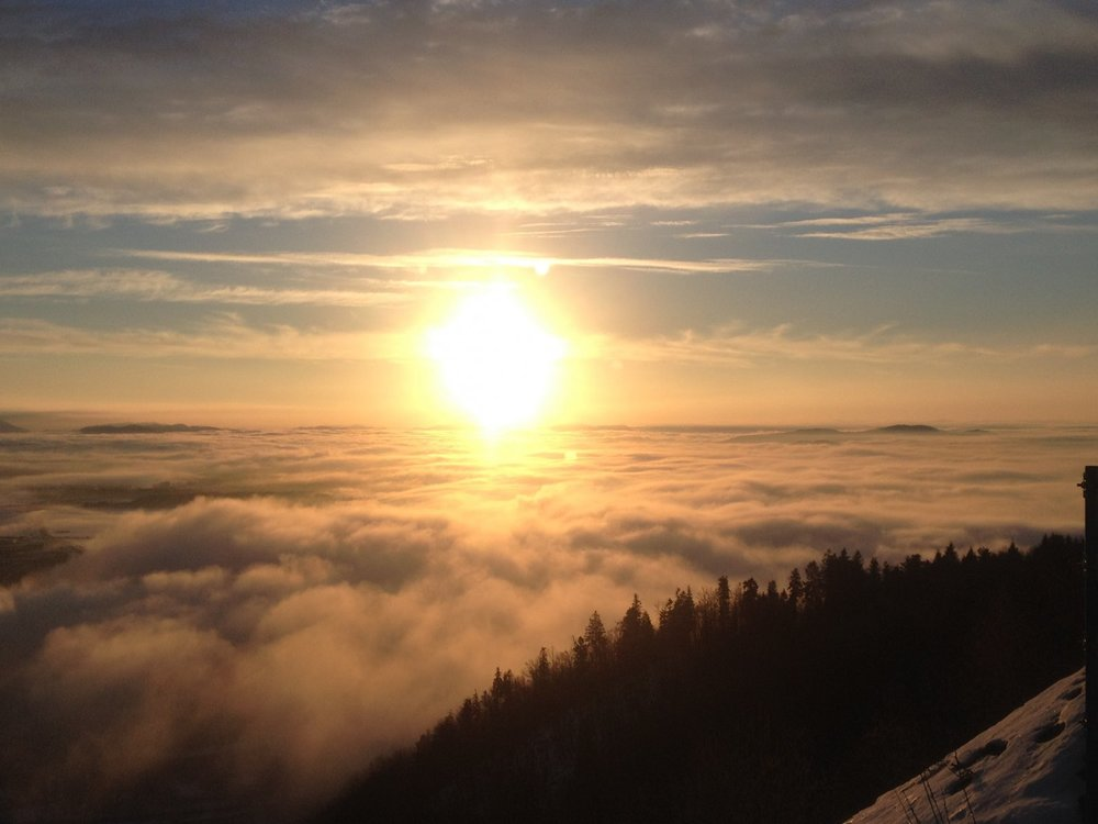Slovenian sunrise