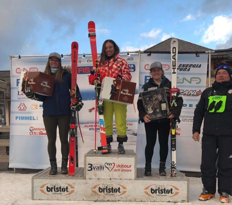 GS: 3rd overall  - 2019 CIT WC Passo san Pelligrino