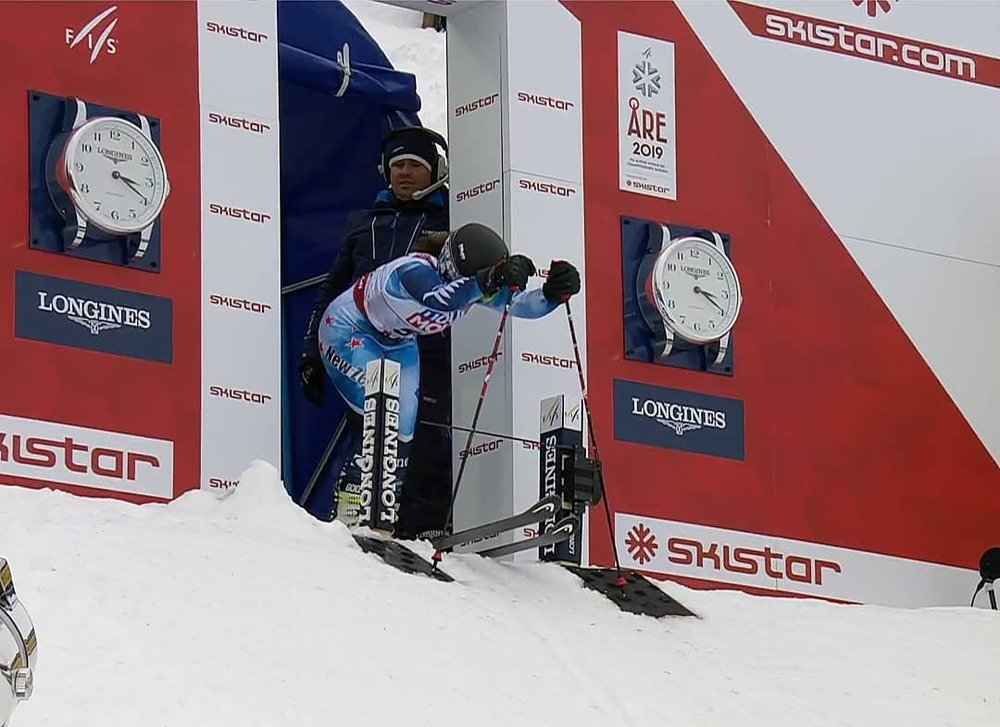 GS: 46th of 82 finishers - 2019 World Champs in Are, Sweden