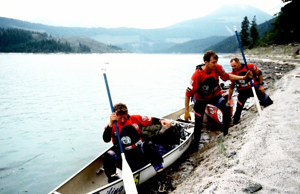 Team Reuters, Eco-Challenge 1996, British Columbia