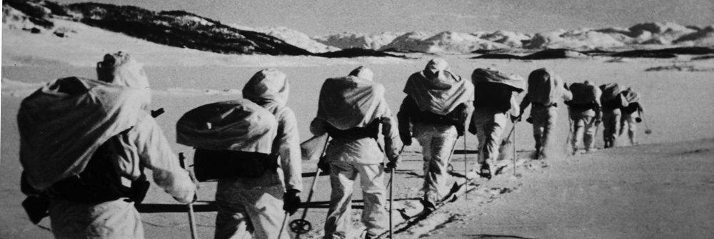 Skiers, Heroes of Telemark