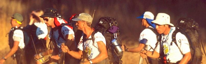 hikers Eco-Challenge 1997 Australia