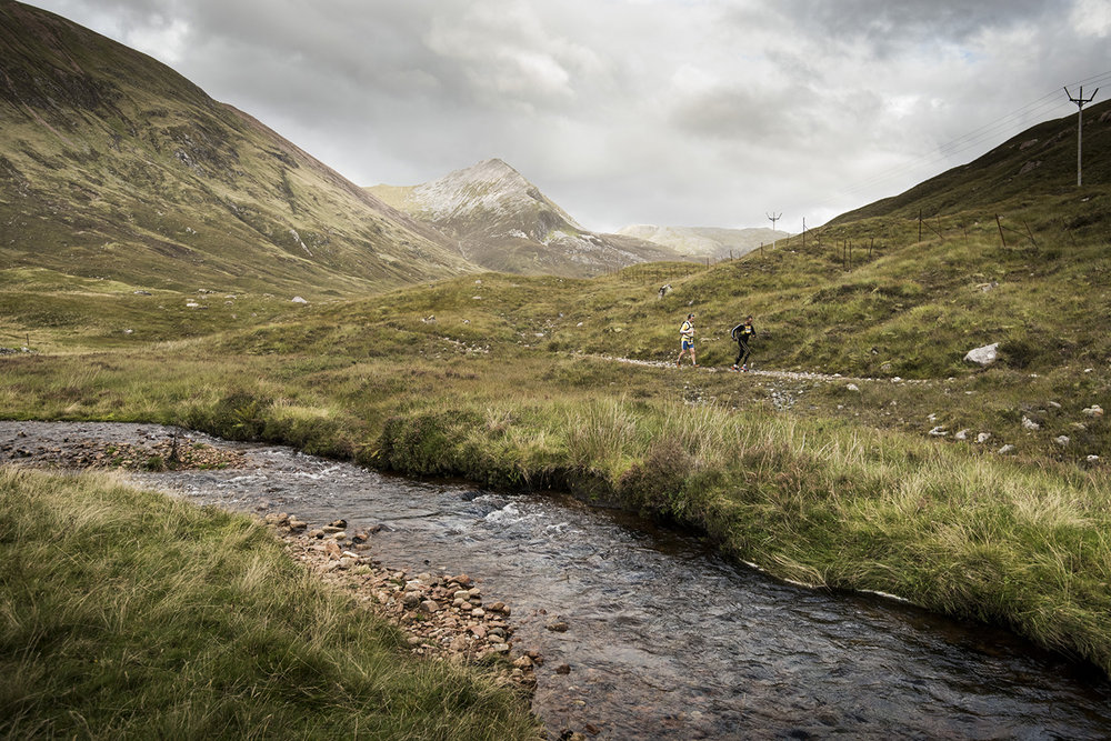 Competitors on the West Highland Way, c Rat Race Adventure Sports