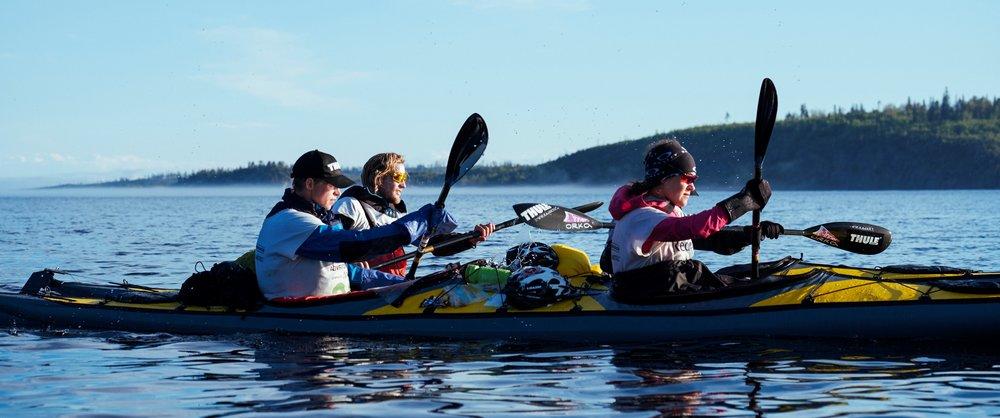 Kayak training,  © Erik Putsep