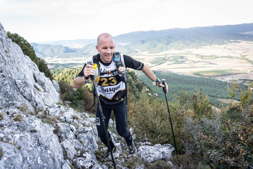 Tom and the dry, challenging terrain
