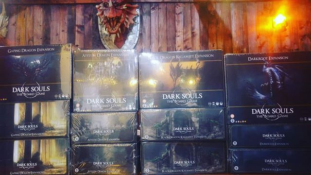 Dark souls expansions just landed?!?! You think the original board game was brutal? Let's see your skill with the expansions ;) Now new just arrived at #geekylizarduae  Contact  mike 054 479 8591 Chris +971 52 126 2873 +971 55 110 8398  To reserve your copy!  #darksouls #darksoulsboardgame #dubai #uae