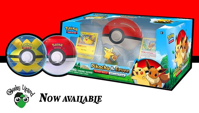 Catch em all with the new Pokeball Tins and Pikachu and Eevee Pokeball Collection! *Prices are at 70 aed and 120 aed respectively.  #pokemon #pokemonuae #pokemontcg #dubai #LostThunder