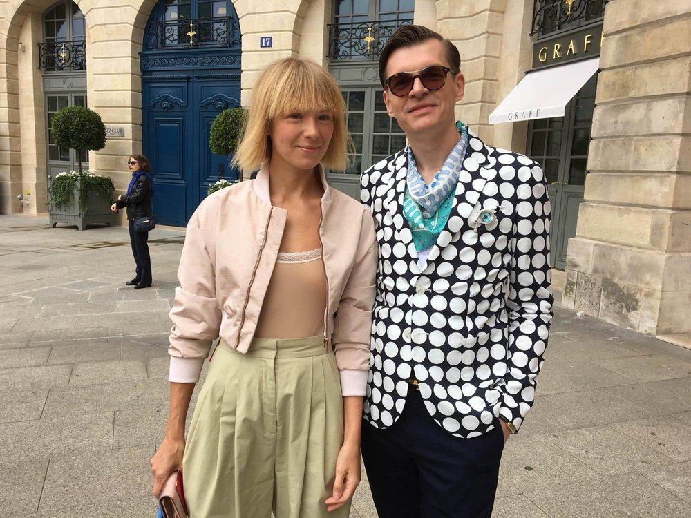 with Vika Gazinskaya