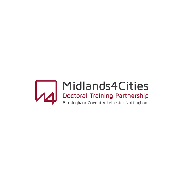 Midlands 4 Cities - The AHRC-funded Midlands4Cities Doctoral Training Partnership (M4C) brings together eight leading universities across the Midlands to support the professional and personal development of the next generation of arts and humanities doctoral researchers. M4C provides PhD studentship funding and professional training opportunities.Read More