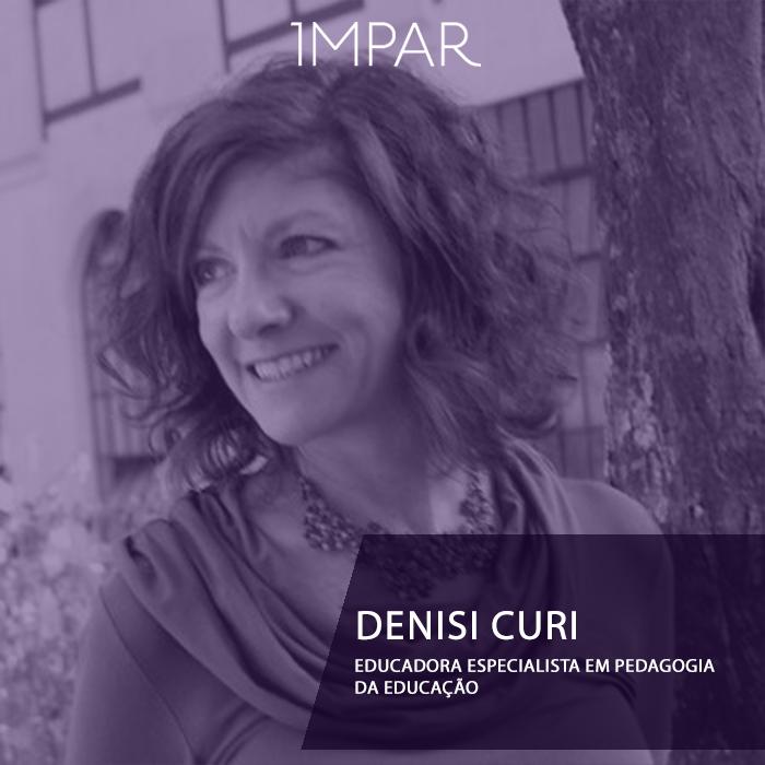Denise Curi - Pedagogia da Educação