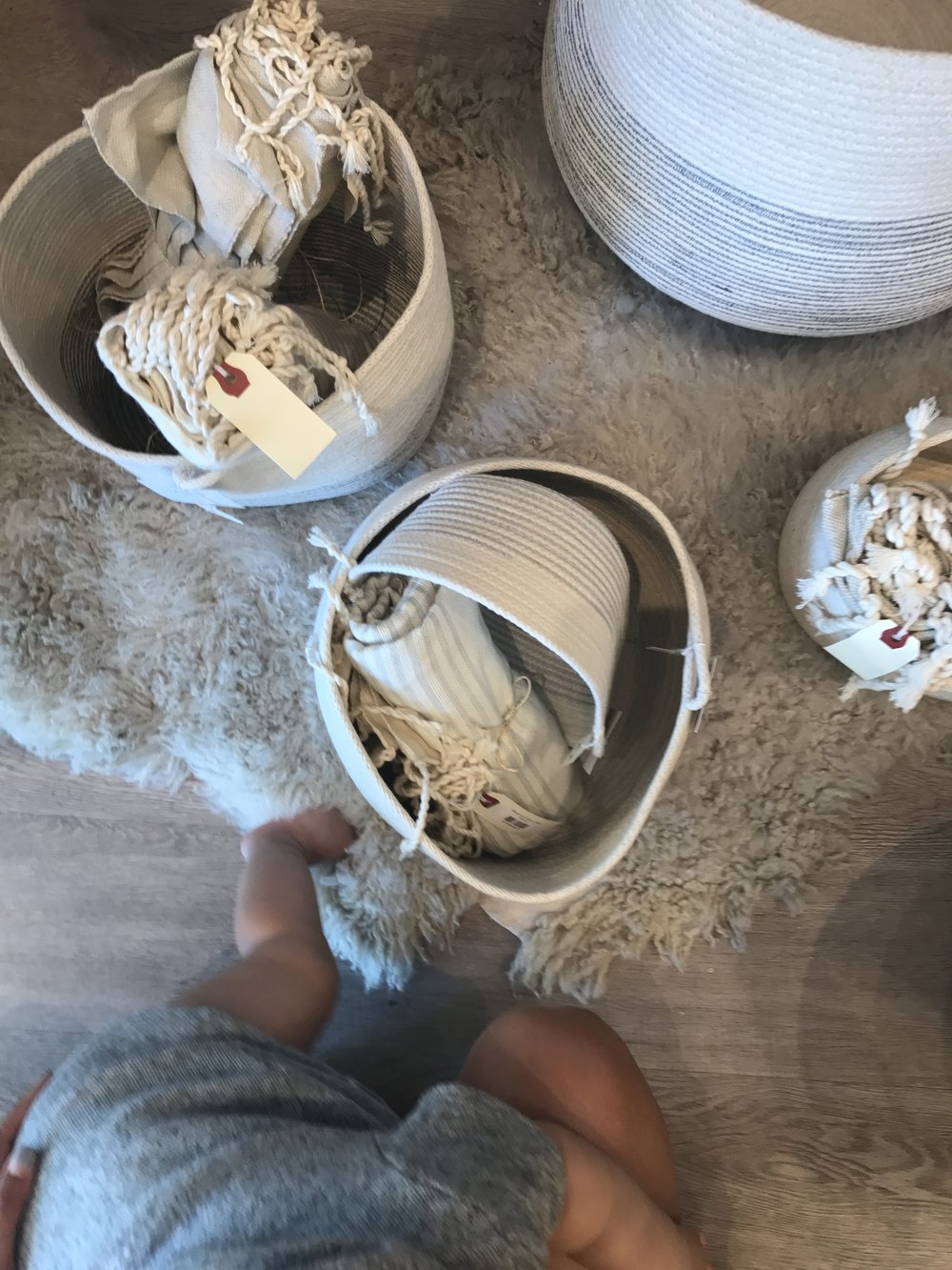 rope bowls, basketsand bags -