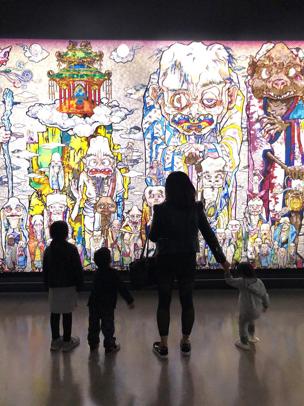 Murakami Vancouver Art Gallery