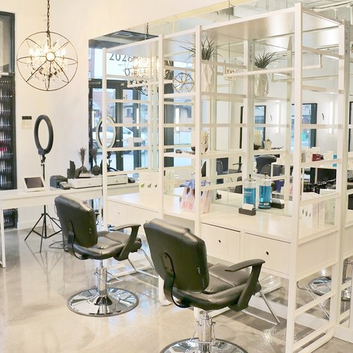 EMME HAIR   This salon not only offers everything from haircuts to colour, but specializes in a variety of in-house extensions. More importantly, this salon is owned by a passionate mother to two, and is a huge advocate + proponent for mental health.
