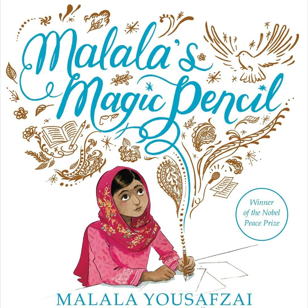 MALALA'S MAGIC PENCIL  As a child in Pakistan, Malala made a wish for a magic pencil. But as she grew older, Malala saw that there were more important things to wish for. Malala realized that she could still work hard every day to make her wishes come true.