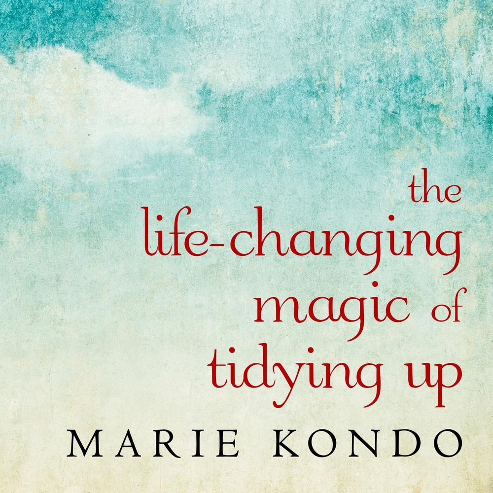 """THE LIFE CHANGING MAGIC OF TIDYING UP   With detailed guidance for determining which items in your house """"spark joy"""", this international bestseller featuring Tokyo's newest lifestyle phenomenon will help you clear your clutter and enjoy the unique magic of a tidy home—and the calm, motivated mindset it can inspire."""