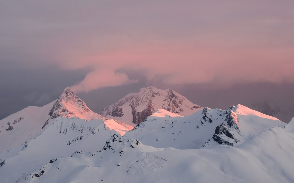 Sunrise over Mont Blanc