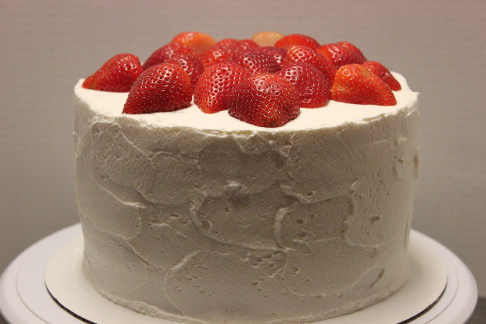 Tres Leche (half strawberry is optional)**