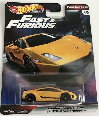 Hot Wheels Premium Fast And Furious Lamborghini Gallardo Lp 570 4