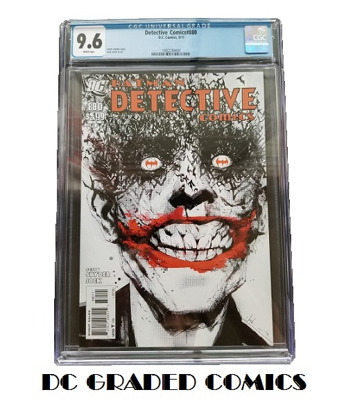 DC GRADED COMICS