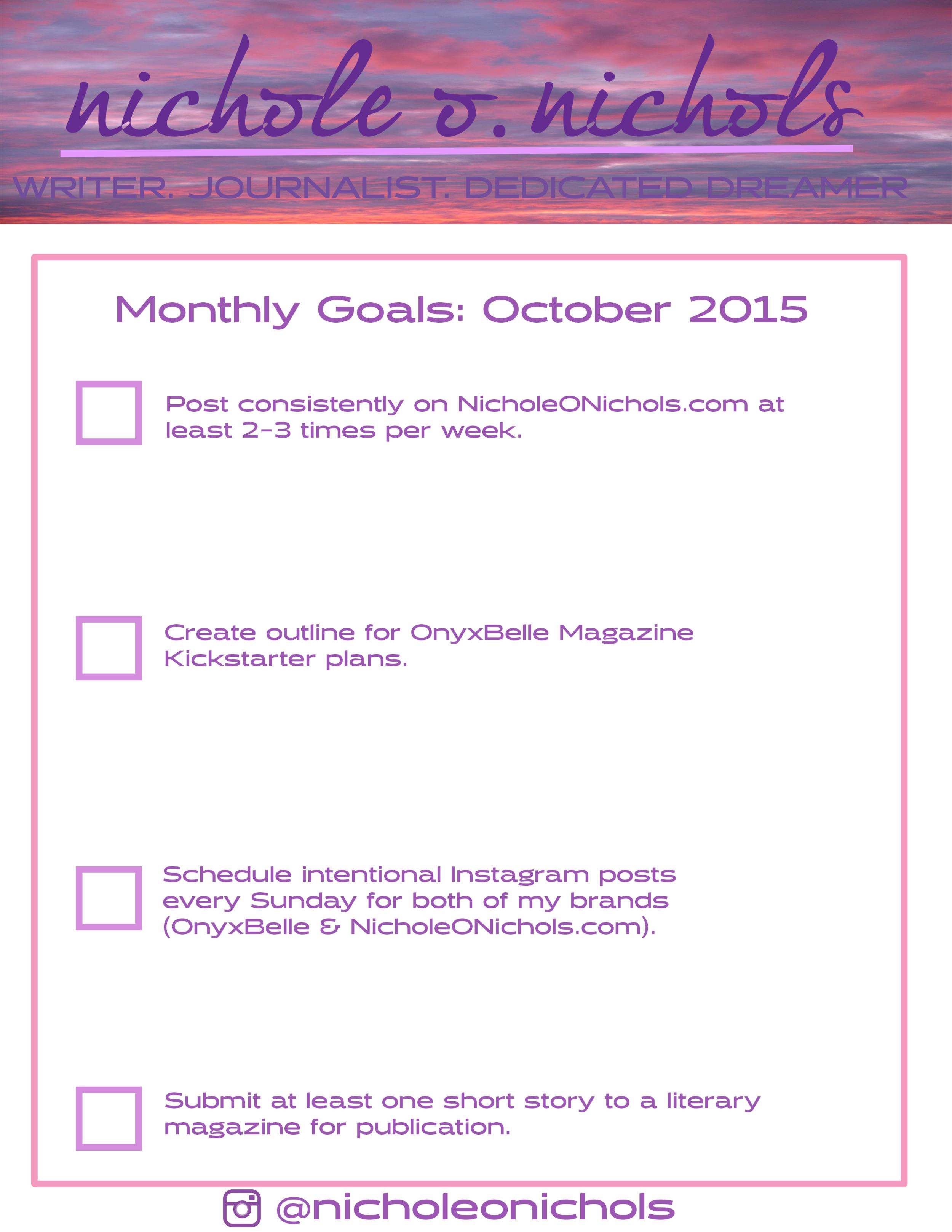NicholeONicholsGoals_Oct2015