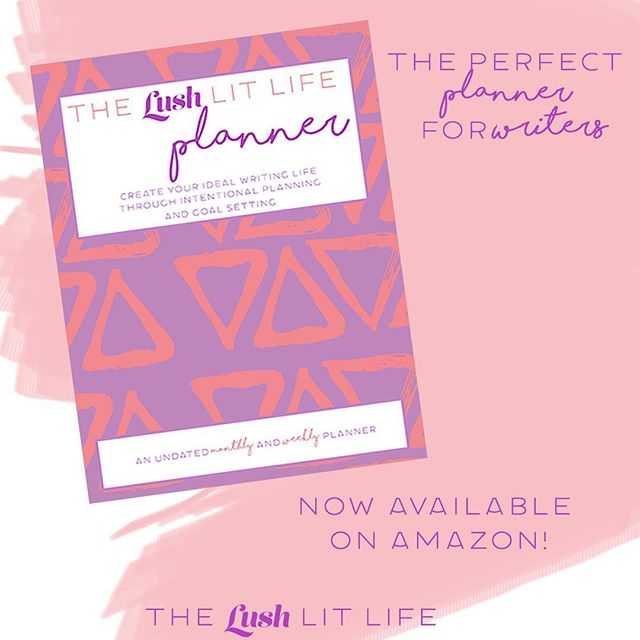 It's here! Start 2018 by treating yourself or your favorite writer to a planner that was created with writers in mind. Click the link in my bio to get a copy!💜 Check out my highlights for a tour of the planner.