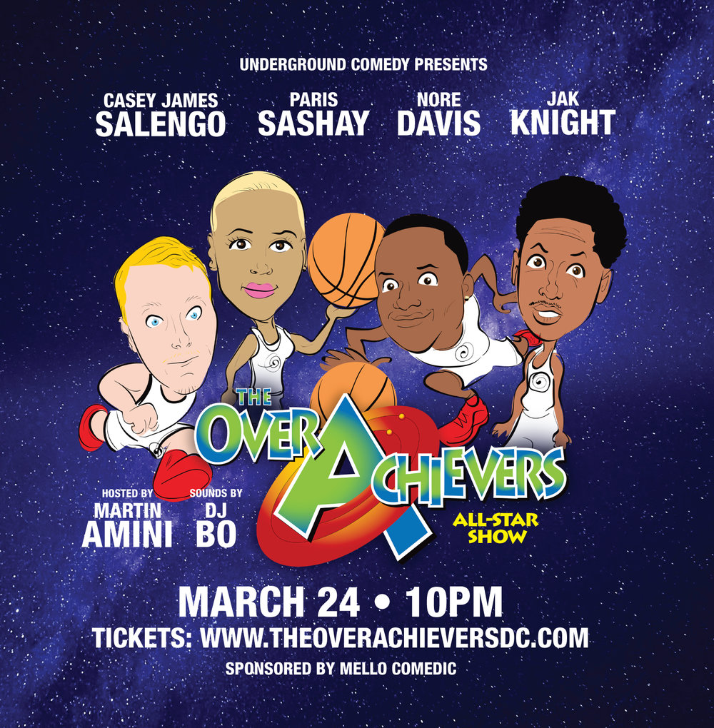 Overachiever All-Star Show Tickets