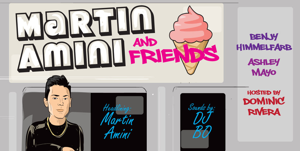 Martin Amin and Friends Comedy Show