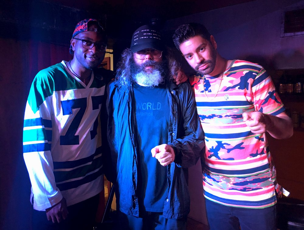 Martin Amini and Judah Friedlander