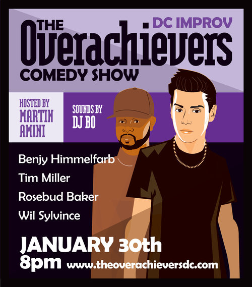 The Overachievers Comedy Show Hosted By Martin Amini