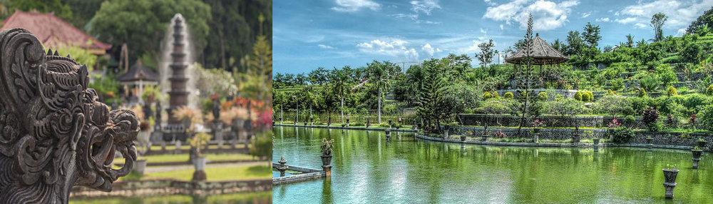 Enjoy visiting Tirta Gangga Water Palace...you may choose to bathe in the sacred waters?