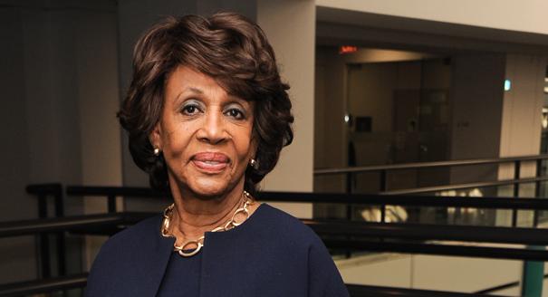 U.S. Congresswoman Maxine Waters