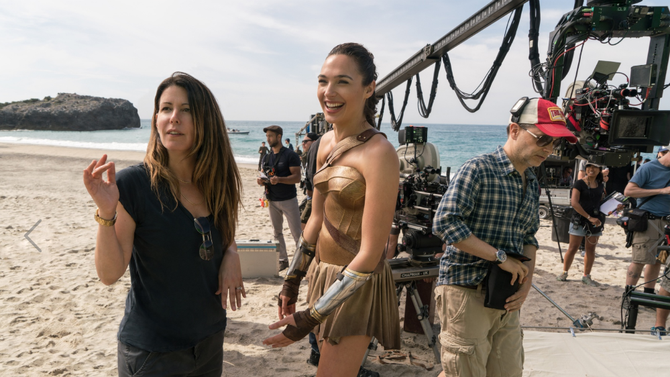 Patty Jenkins, Gal Gadot, Wonder Woman, Movies, Hollywood