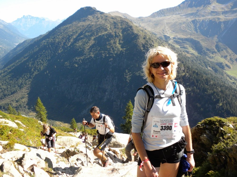 Ultrarunning mindset coach Susan Donnelly conquers worry about DNF at UTMB