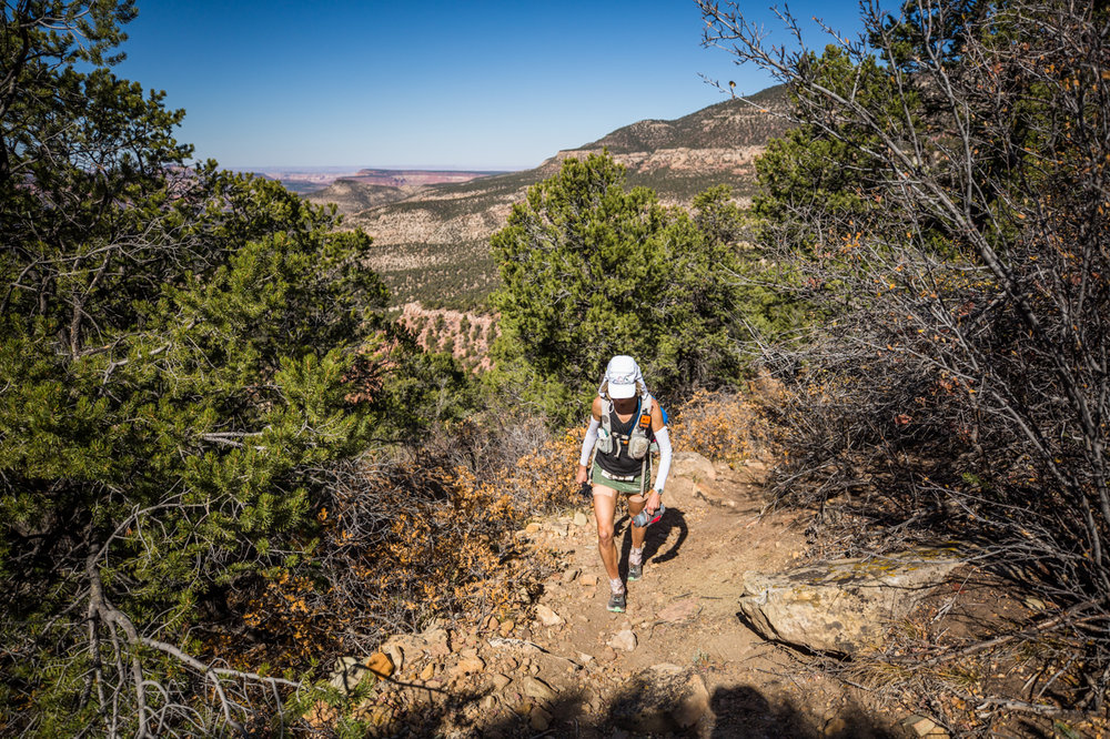 Susan Donnelly having a bit of bad run at Moab 200 Mile race.