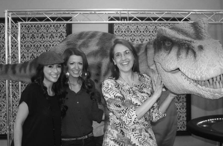 dinosaur photobooth