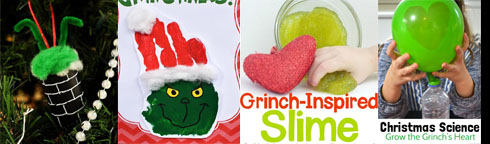Here are some of the things we will do during Grinch Hullabaloo.