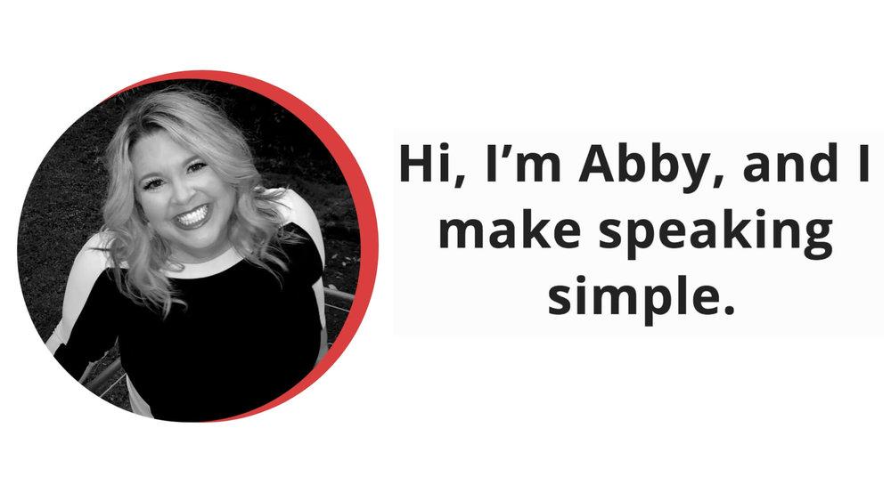 Abby Rike public speaker speaking coach speaking mentor