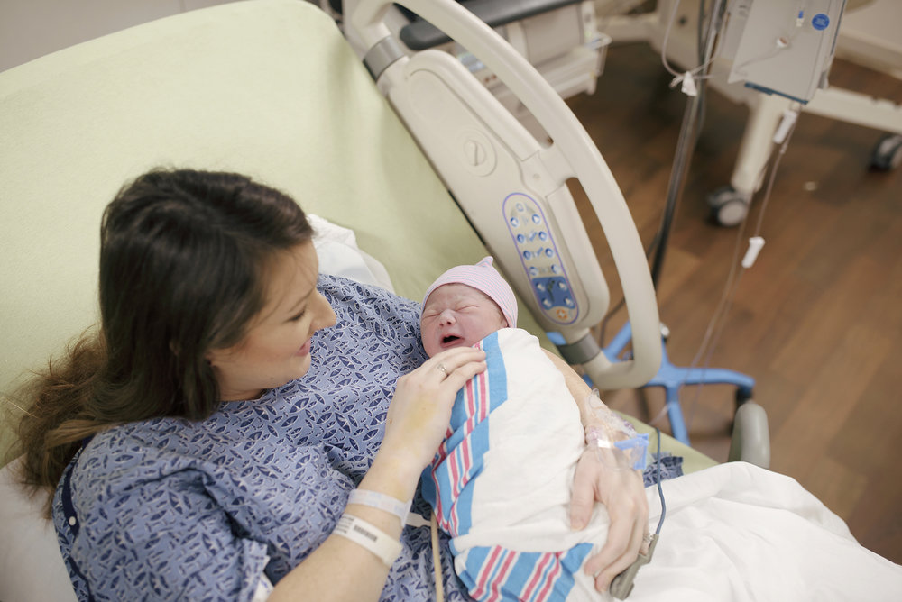 A rainbow baby birth story at Navicent Health Macon Georgia