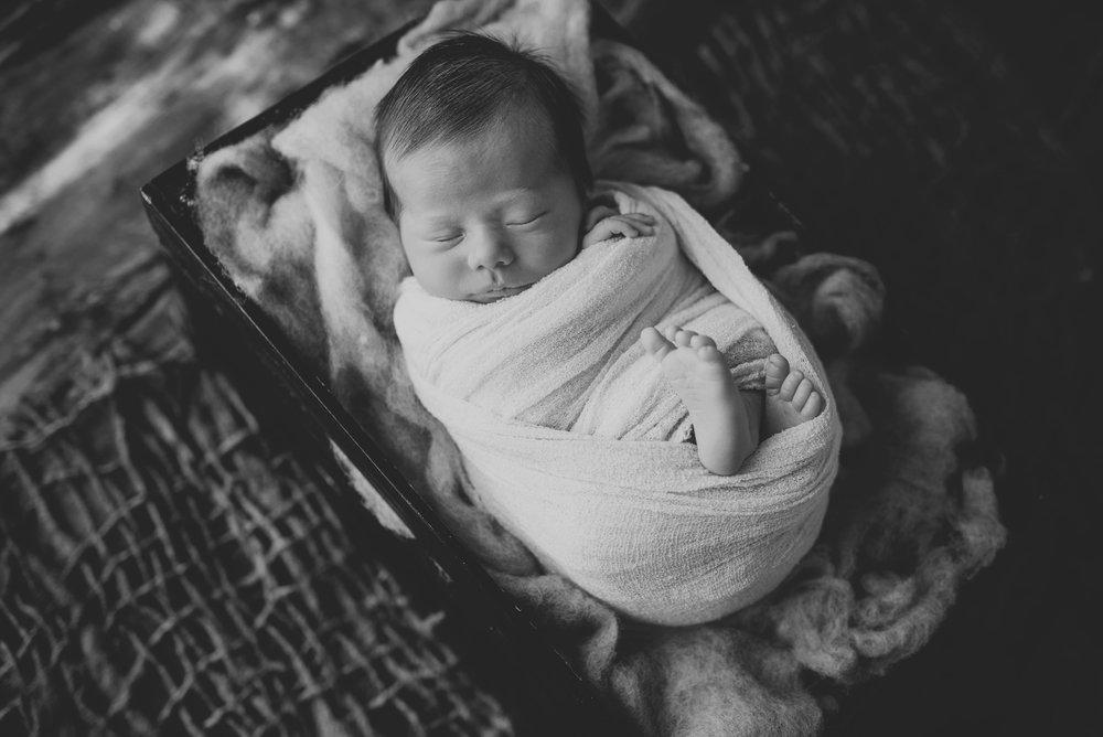 Hunter - Newborn Session