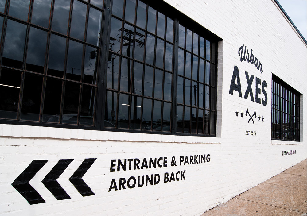 Urban Axes — Sign Painting