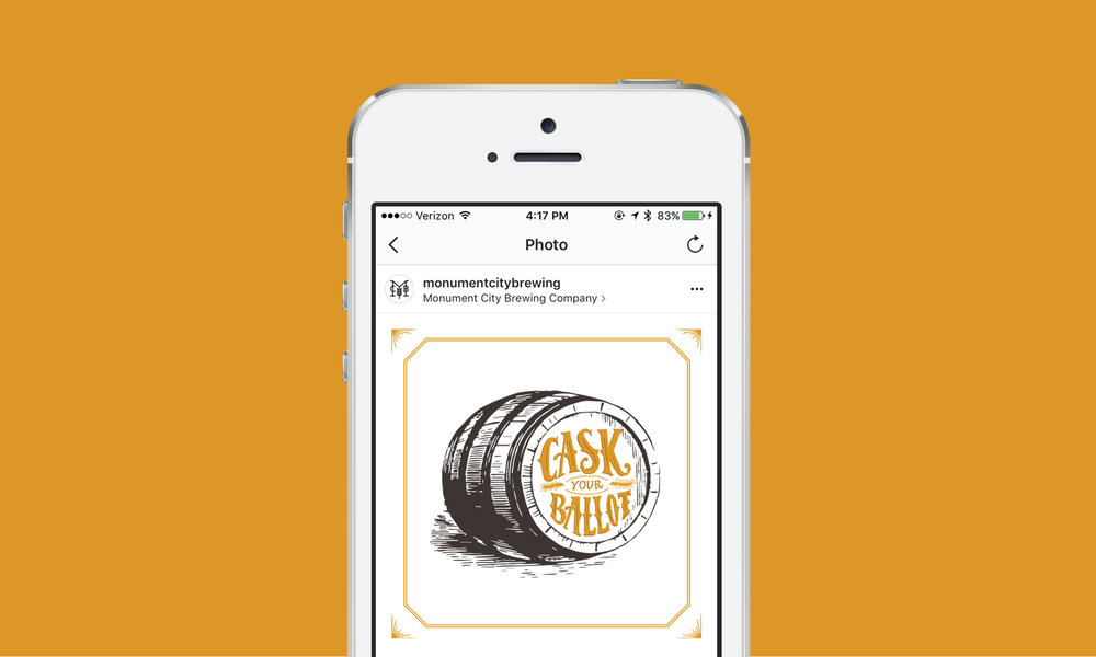 Monument City Brewing Company — Cask Your Ballot