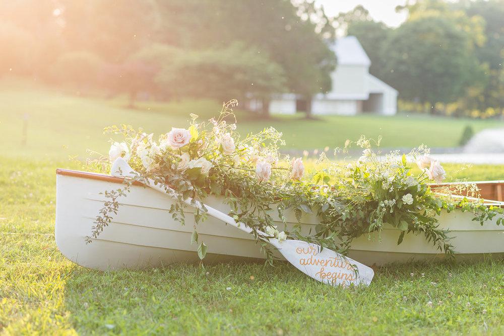 Baltimore Bride Canoe Engagement Shoot -